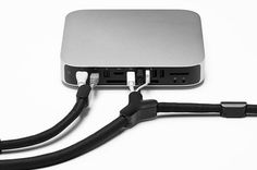 Soba takes up to three cables and consolidates them for easy routing Thunderbolt Display, Mac Notebook, Macbook 15, Tech Branding, Iphone Price, Gold Apple Watch, Drive Bay, New Ipad Pro, Newest Macbook Pro