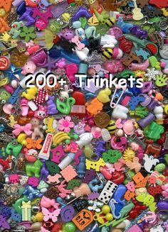 200+ Trinkets - No Duplicates! I Spy Trinkets, I Spy Toys, Wholesale, Bulk, Small Toys, Little Toys, I Spy Bag