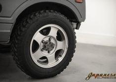 Japanese Classics | 1990 Suzuki Jimny Suzuki Jimny, Steel Wheels, Samurai, Katana, Vehicles, 4x4, Japanese, Toys, Inspiration