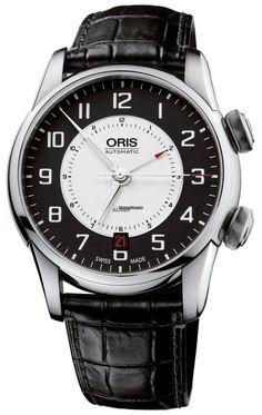Oris RAID 2011 Alarm Limited Edition 90876074094Set $8,500 #Oris steel case with leather bracelet and automatic movement