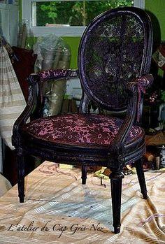 Alkemie: Traditional French Upholstery ~ L'Atelier du Cap Gris-Nez