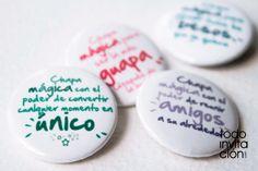 "SET DE 50 CHAPAS DIVERTIDAS "" CHAPAS MAGICAS"" chapas que hacen magia. todoinvitacion.com"