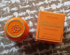 Tender Care, protecting balm, cinnamon oil, Oriflame, skin, skn care, lips, lip care, mmdm, beauty, beauty blogger