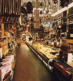 valvona & crolla food emporium, Edinburgh. A place not to be missed. An Alladins cave.