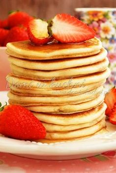 Pancakes – naleśniki amerykańskie