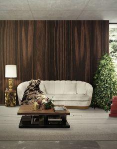 New Hochwertige M bel Designer M bel Messing Beistelltisch Modernes Design Minimalismus Design Minimalist Decor Luxus M bel Samt Sessel u