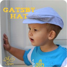 A wonderful and nicely detailed tutorial on how to make this 'gatsby hat' (also looks a bit like a news boy hat to me).  It's so hard to find really cute sewing tutorials for boys, but this blog is great!