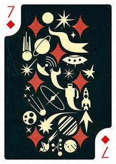 7 of Diamonds by Iv Orlov – Edition Zero – Playing Arts