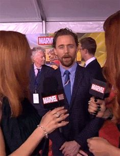 When Tom Hiddleston sneaks up behind you.