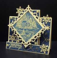 Sleighride to Worship by GracieCakes - Cards and Paper Crafts at Splitcoaststampers