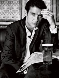 Clive Owen. my friend has no idea what i see in him... well... just look at him!
