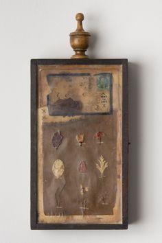 Works | Janet Eskridge Collages, Collage Art, Found Object Art, Junk Art, Encaustic Art, Assemblages, Assemblage Art, Box Art, Seashells