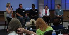 Kris Fuhr, Scott Mills, Michelle Duffie, Laurie Chimento, and Bob Hutchins