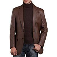Fashion for a Gentleman - Informal Events Mens Leather Coats, Leather Blazer, Men's Leather, Big & Tall, Sport Coat, Suit Jacket, Gentleman, How To Wear, Clothes