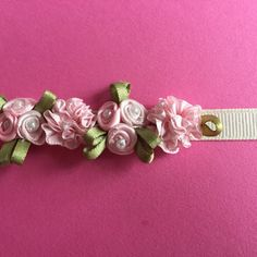 Light Pink Flower Ballet Bun Wreath by Kcodanceaccessories on Etsy