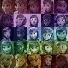 sweet,scary,and sad Anna. Disney Princess Movies, Frozen Princess, Princess Anna, Best Disney Movies, Anna Frozen, Disney Frozen, Disney Pixar, Frozen Story, Frozen Movie