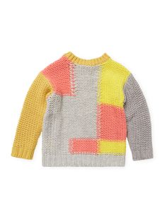 Crochet and Intarsia Sweater