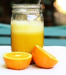Sunshine Juice - golden beet, apple, orange, ginger root, goldenberry powder