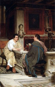 Sir Lawrence Alma-Tadema - The Discourse