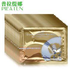 pilaten collagen Eye Mask 20pcs=10pairs gold sleep mask anti wrinkle Anti-Aging eliminates dark circles eye gel patches eye care
