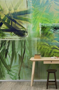 Wallpaper GREENLEAVES by Walpepper