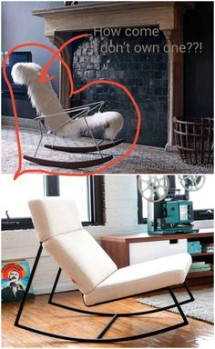 Mid-Century contemporary chairs are great decors suitable for any interior style. So let's take a look at all 11 possible types of accent chairs for living rooms. Contemporary Chairs, Modern Chairs, Small Living Rooms, Living Room Modern, Patchwork Chair, Old Chairs, Lounge Chairs, Slipper Chairs, Classic Living Room