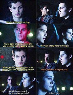teen wolf. Season 3. Isaac Lahey. Scott McCall. Stiles Stilinski.