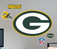 Green Bay Packers- Fathead Wall Decal at AllPosters.com