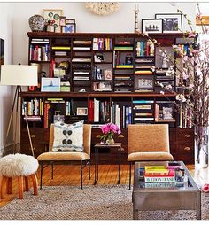 Love this...my style to a tee!!! Eclectic, colorful, bohemian, and modern in one room. From @Domaine bw.