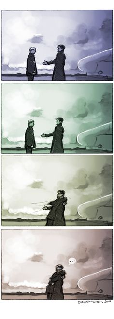 Fixed it. << I do love this. It isn't Johnlock, yet it has certain feel to it that is more caring and the way the are inside. I didnt quite like how formal their goodbye ended up being...