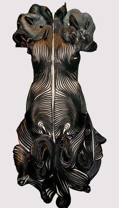 Iris Van Herpen. (3D printed dress.)