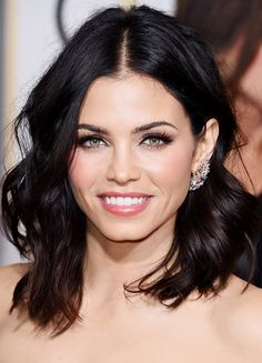 Do you love Jenna Dewan Tatum's deep rich Brunette color? Try eSalon's Darkest Brown at home hair color! My Hairstyle, Pretty Hairstyles, Bob Hairstyles, Hairstyle Ideas, Formal Hairstyles, Medium Hairstyles, Bride Hairstyles, Summer Hairstyles, Brunette Bob