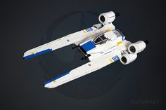 Star Wars: Rogue One U-Wing in LEGO