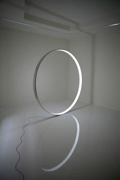 katasedlak:  martin sedlak gate 200 x 200 x 10cm  dural&electroluminescent foil martinsedlak.sk