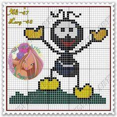 Esses gráficos e monogramas foram encontrados na net, mais precisamente no pinterest.                                                       ... Labor, C2c, Plastic Canvas, Perler Beads, Tweety, Minions, Turtle, Cross Stitch, Crochet