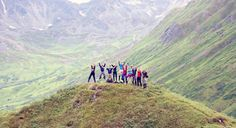 A group of incoming Tech students on an 11-day Alaskan Adventure through Tech Treks!