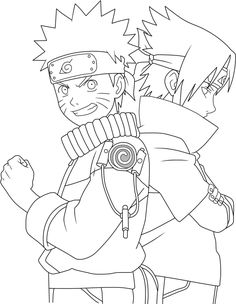 Discover recipes, home ideas, style inspiration and other ideas to try. Anime Naruto, Jiraiya Y Naruto, Naruto Fan Art, Otaku Anime, Naruto Drawings, Naruto Sketch, Anime Sketch, Manga Coloring Book, Anime Lineart