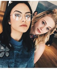 Riverdale ❤️ Camila Mendes and Lili Reinhart