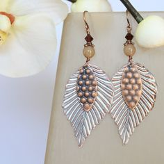OJI ORIGINALS: Shabby Chic earrings
