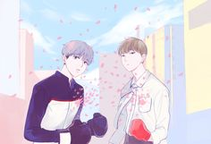 Seungcheol and Wonwoo     (not mine)