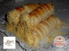 Sajtos roló Croissants, Cake Cookies, Scones, Bakery, Muffin, Food And Drink, Sweets, Cheese, Breads
