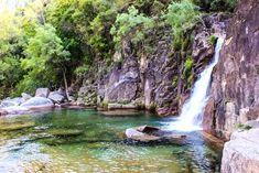 Discover amazing things and connect with passionate people. Portugal, Terra, Waterfall, Amazing, Nature, Outdoor, Photos, Outdoors, Naturaleza