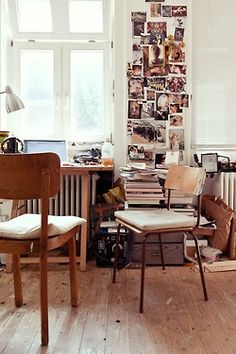 office in the living room?