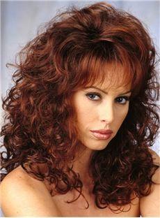 Curly 20 Inches 120% Capless Women Human Hair