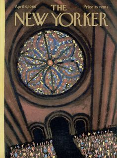 Robert Kraus : Cover art for The New York 2147 - 9 April 1966