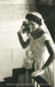 THE 1950 Bride: Jacqueline Bouvier Kennedy...