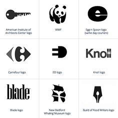 Negative Space Logo Design Trend 2014
