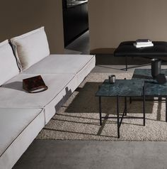 From the iconic Daybed to the grand Modular Sofa, all HANDVÄRK seating objects are meticulously designed in Denmark and characterized by aesthetic sustainability: a timeless object in a quality last a lifetime. Brown Interior, Home Interior, Interior Decorating, Interior Design, Danish Furniture, Sofa Furniture, Furniture Design, Brown Carpet, Scandinavian Living