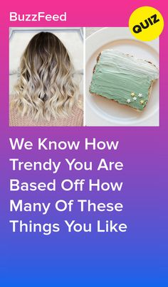 Do you love trends or prefer to do your own thing?