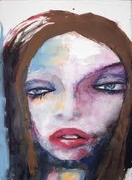 Marilyn Manson's  Watercolour paintings